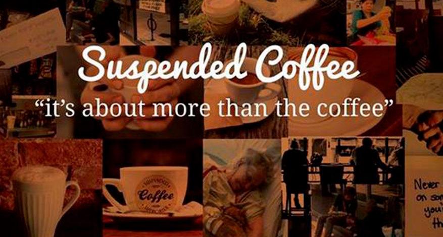 Aufgeschobene Getränke im Café international