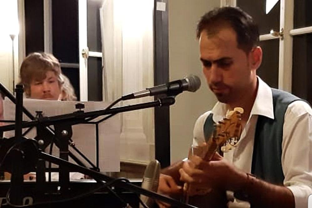 Falafel-Fest mit Live-Musik von Rezan Morad und Martin Kubetz