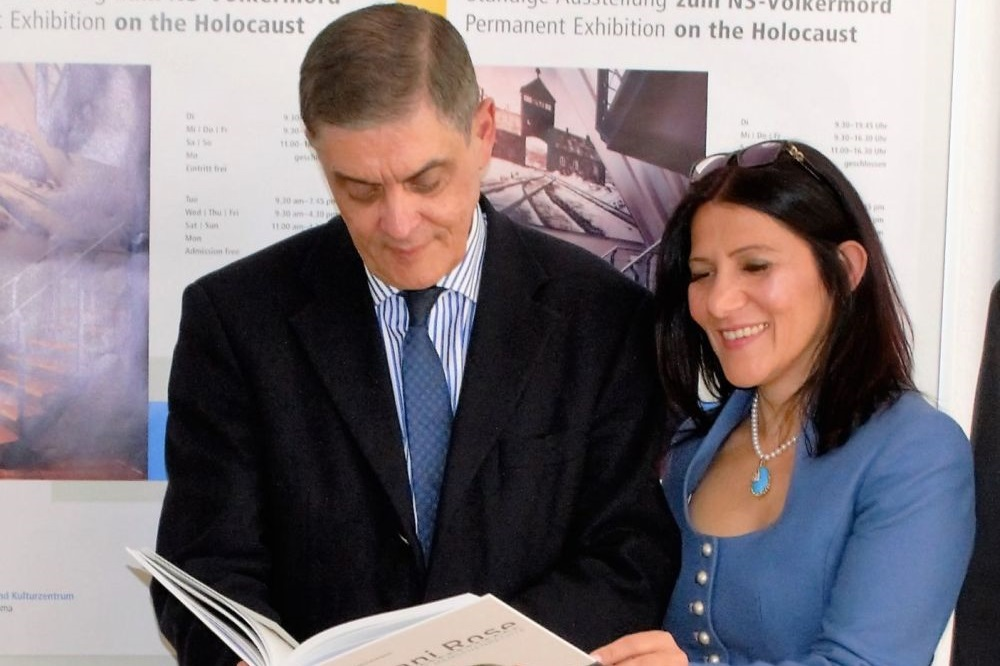 """""""Romani Rose - ein Leben für die Menschenrechte"""" - Online-Lesung"""