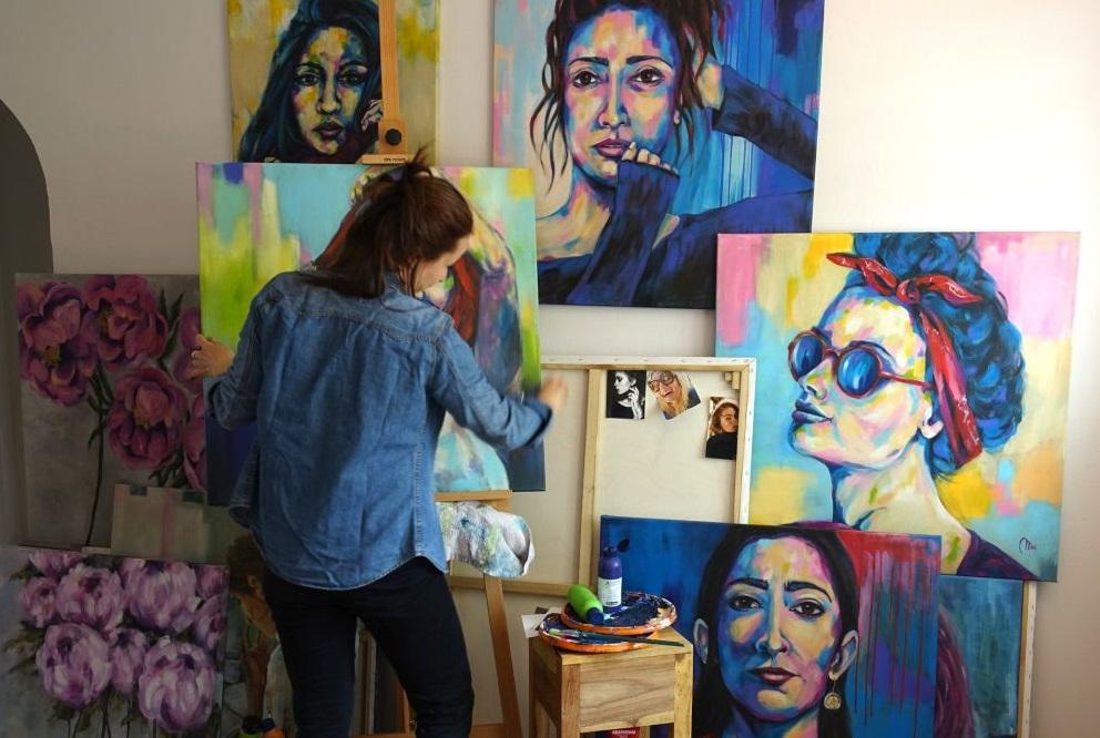 Ausstellung  von Katarzyna Miś-Dziarmagowska