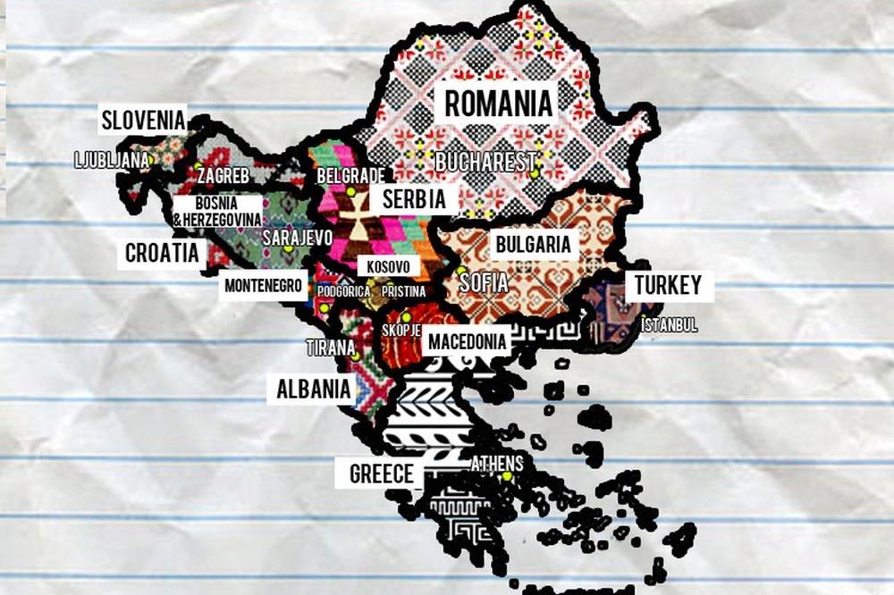 Sonnige Grüße vom Balkan
